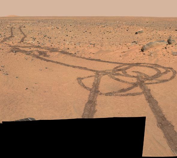 Nasa mars rover homepage