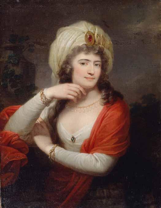 Alexandra Branicka. Grassi Йозеф Грасси Портрет Александры Браницкой 1783 (525x678, 47Kb)