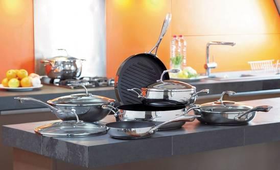 Какой из материалов для кухонной посуды предпочтителен7
