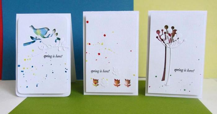 Схемы вырубки открытки