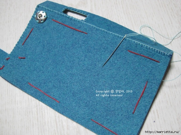 Как сшить чехол-сумочку для мобильного телефона (17) (632x471, 205Kb)