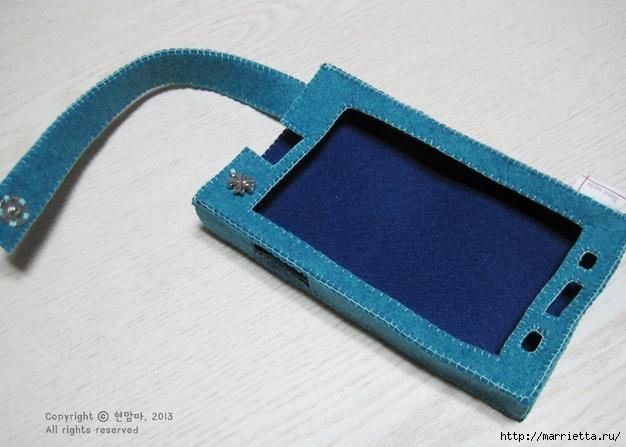Как сшить чехол-сумочку для мобильного телефона (24) (626x447, 154Kb)
