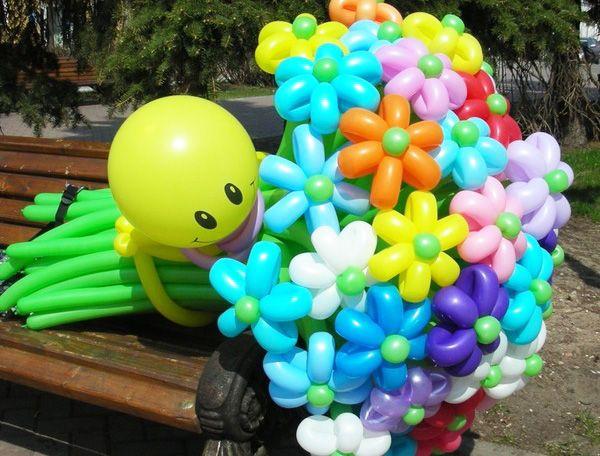Композиции шаров своими руками