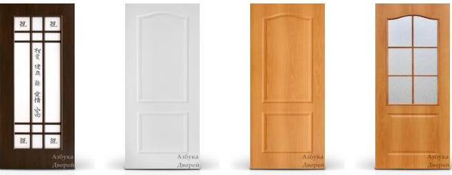Межкомнатные двери. (654x254, 17Kb)