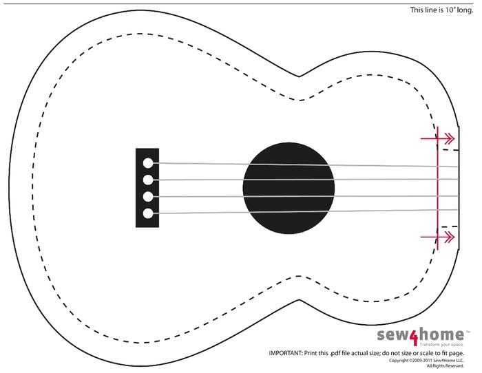 выкройка гитары1 (700x542, 75Kb)
