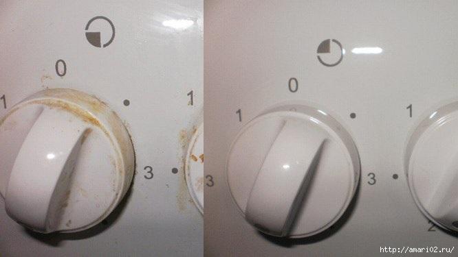 Чистка газовой плиты своими руками