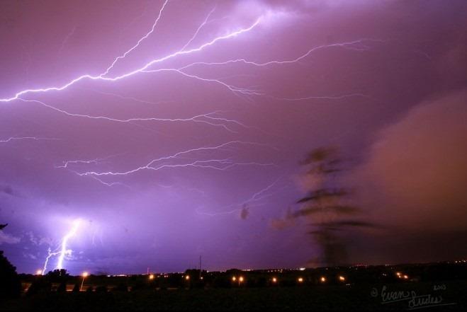 Как фотографировать гром и молнии
