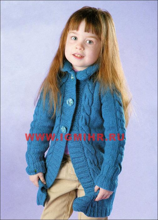 Пальто для девочки 3
