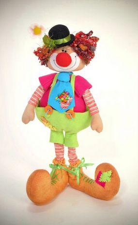 шьем игрушки. выкройка клоуна (1) (285x463, 17Kb)