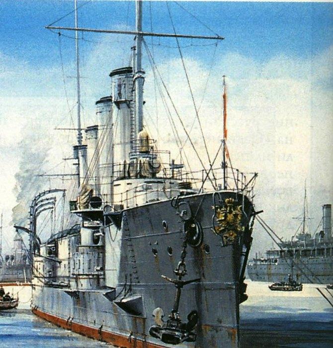 01 крейсер Баян (670x700, 120Kb)
