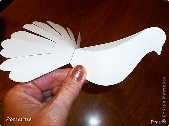Как сделать голубей из бумаги своими руками поэтапно фото