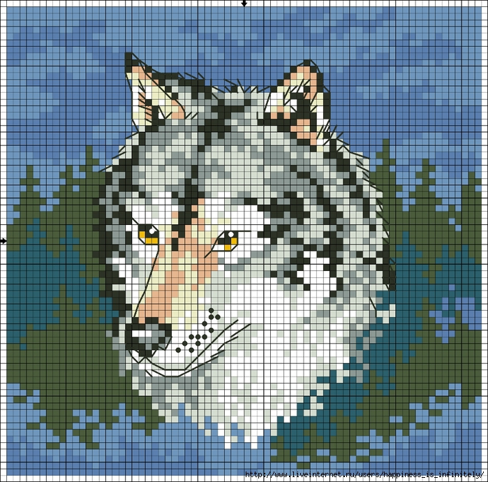Wolf (700x690, 491Kb)