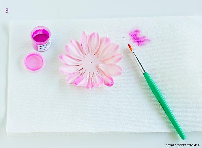 Хризантемы и георгины из сахарной мастики для украшения торта (6) (700x512, 150Kb)