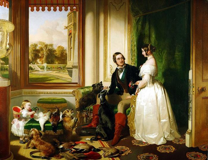 Edwin Landseer. Принц Альберт и королева Виктория, 1841-42 (700x540, 138Kb)