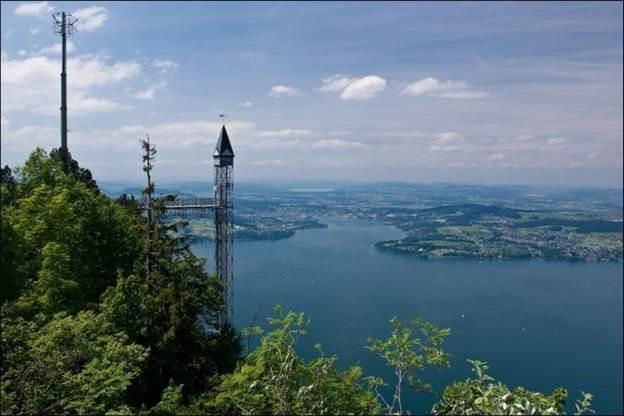 Хамметшванд, самый большой лифт Европы