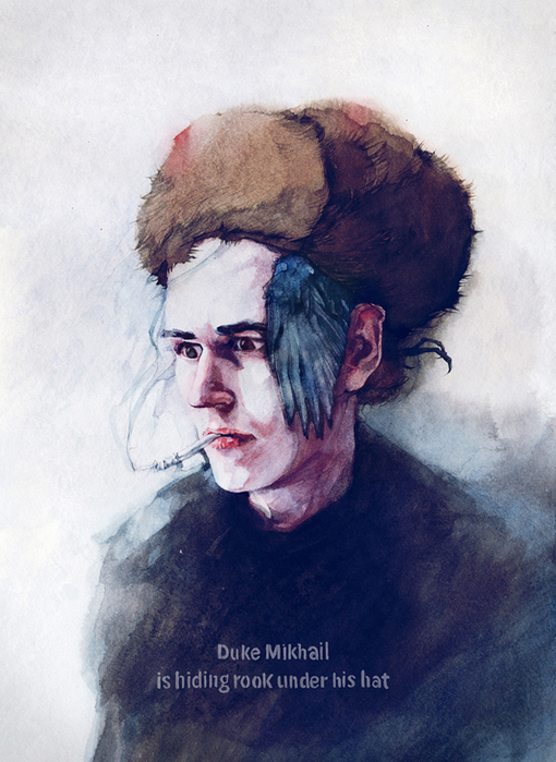 duke-Mikhail-is-hiding-rook-under-his-hat Дима Ребус (510x700, 356Kb)