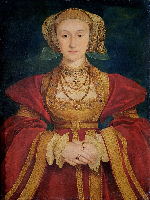 Hans HOLBEIN Portrait of Anne of Cleves 1539 (523x700, 339Kb)