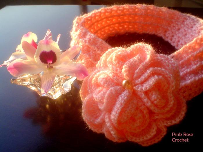 Симпатичный шарфик с цветком (3) (700x525, 848Kb)