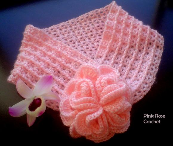 Симпатичный шарфик с цветком (5) (580x488, 605Kb)