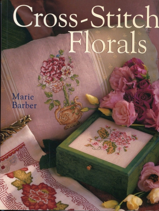 �������� ������ ������� Marie Barber - Cross-Stitch Florals (1) (529x700, 282Kb)