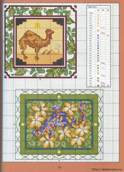 Отличный журнал вышивки Marie Barber - Cross-Stitch Florals (13) (507x700, 342Kb)