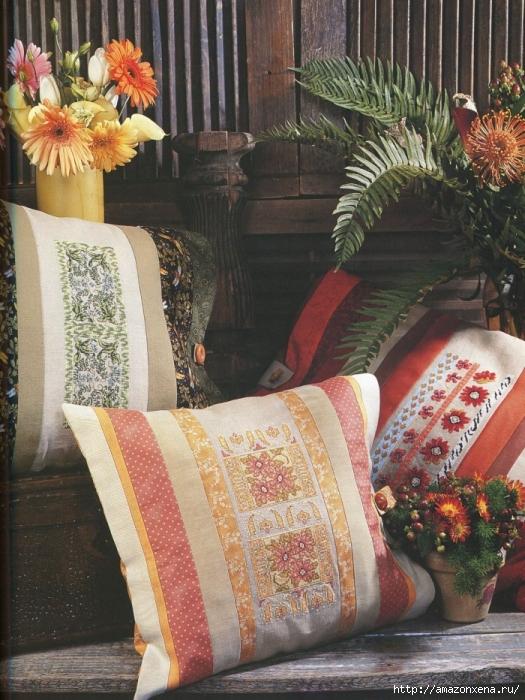 Отличный журнал вышивки Marie Barber - Cross-Stitch Florals (31) (525x700, 343Kb)