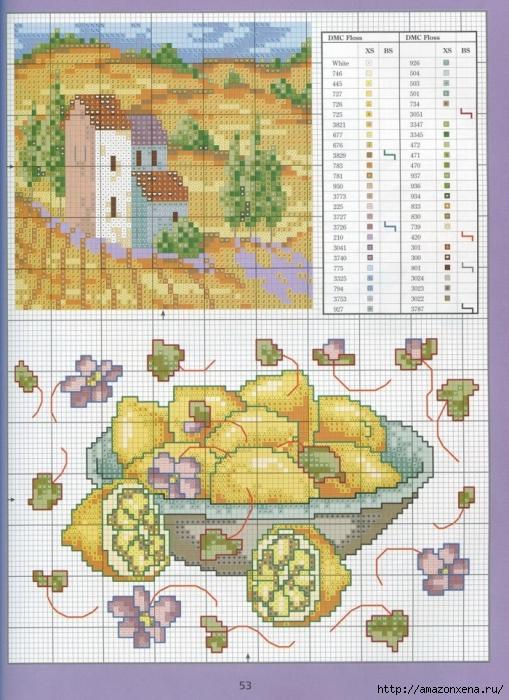 Отличный журнал вышивки Marie Barber - Cross-Stitch Florals (47) (509x700, 333Kb)