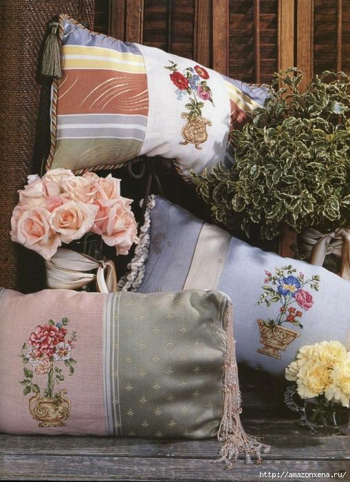 Отличный журнал вышивки Marie Barber - Cross-Stitch Florals (53) (509x700, 349Kb)