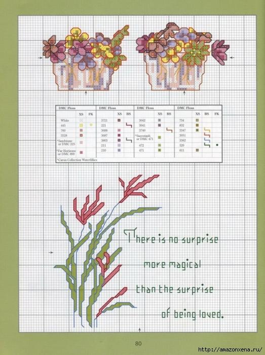 Отличный журнал вышивки Marie Barber - Cross-Stitch Florals (74) (523x700, 291Kb)