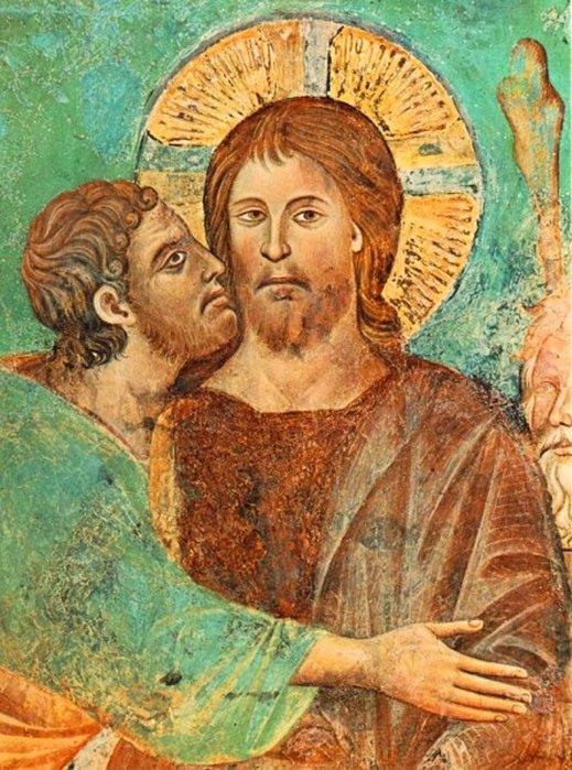 Поцелуй Иуды (519x700, 112Kb)