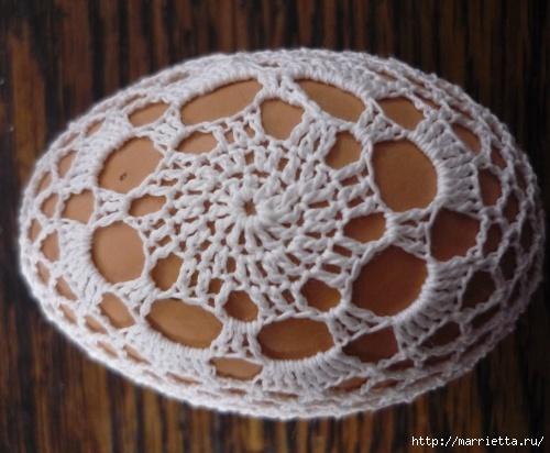пасхальные яйца. обвязка крючком (10) (500x412, 123Kb)