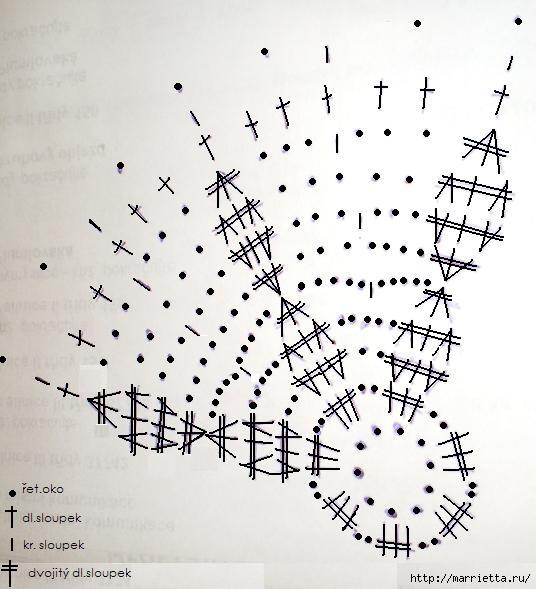пасхальные яйца. обвязка крючком (12) (536x589, 144Kb)