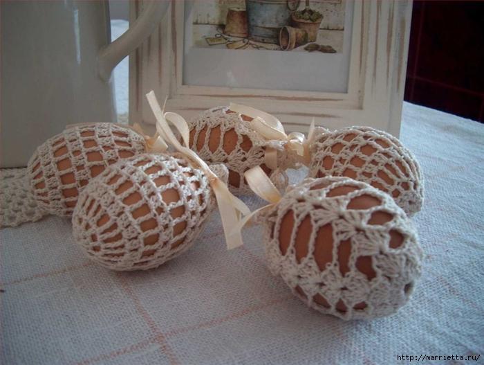 пасхальные яйца. обвязка крючком (31) (700x527, 256Kb)