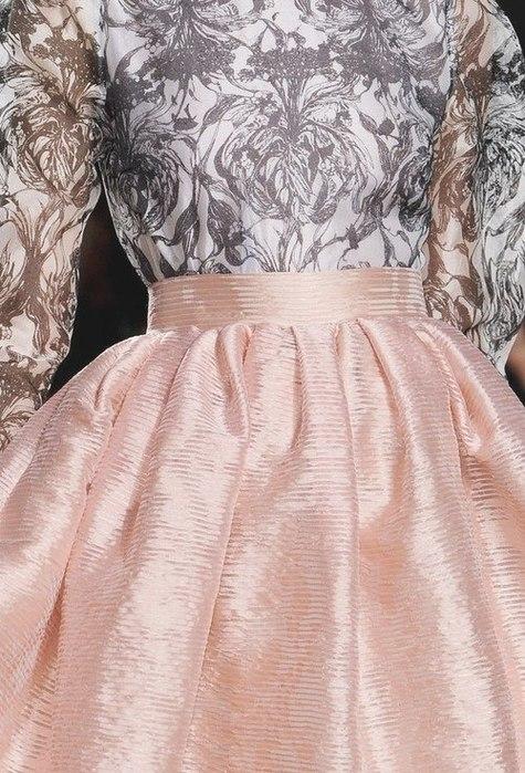 Расклешенная юбка без вытачек