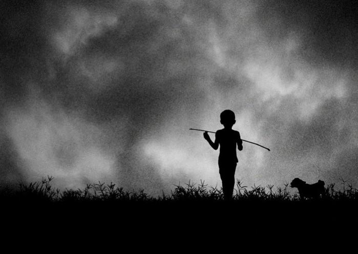 я мечтою ловил уходящие тени тропы