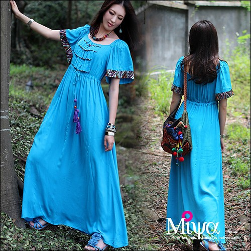 national-wind-manual-nail-bead-short-sleeved-holiday-miya-dress (500x500, 104Kb)