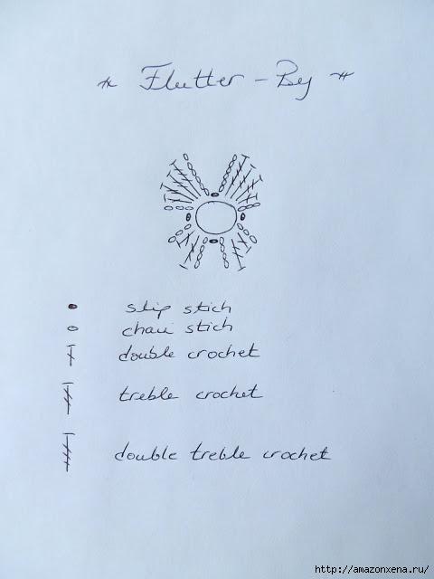 вязание крючком. бабочка (5) (480x640, 95Kb)