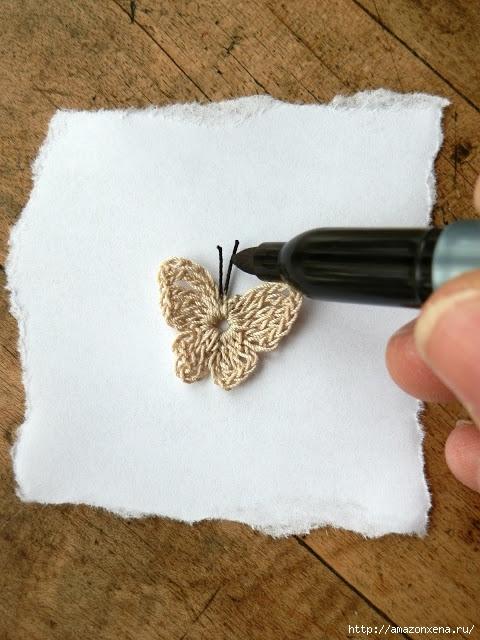 вязание крючком. бабочка (11) (480x640, 208Kb)