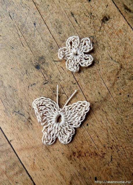 вязание крючком. бабочка (13) (459x640, 331Kb)
