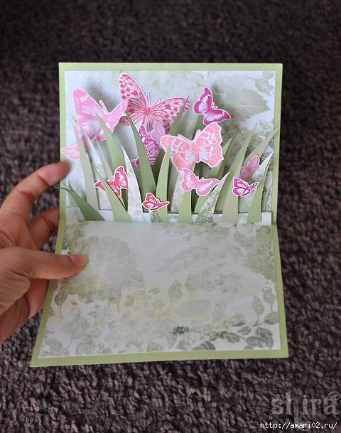 Как сделать красивую объемную открытку своими руками