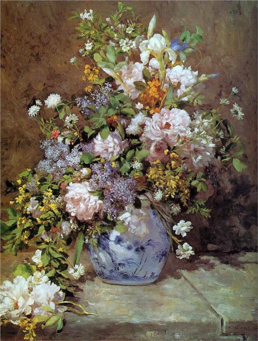Весенний букет, 1866. (531x700, 86Kb)