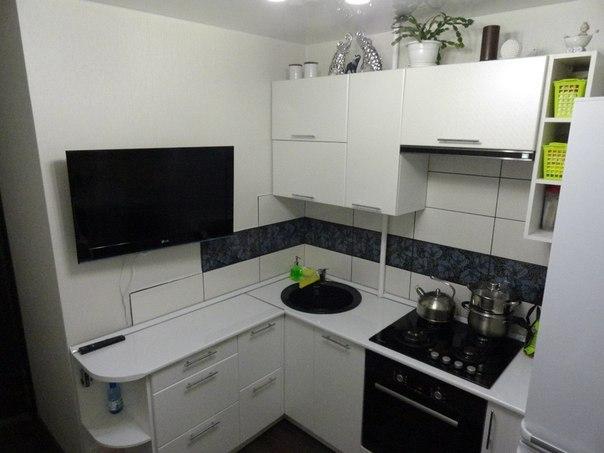 Кухня 5 на 3 дизайн