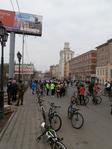 Сбор велосипедистов