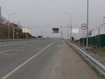 Въезд на Русский мост