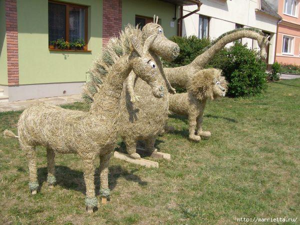 фигурки из сена и соломы (13) (600x450, 203Kb)