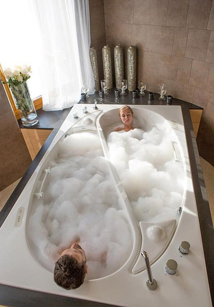 дизайн идея Ванна для двоих (421x604, 50Kb)