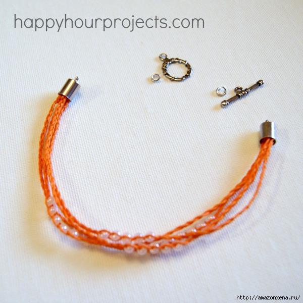 Как своими руками сплести браслет из веревки и бусин (19) (600x600, 179Kb)
