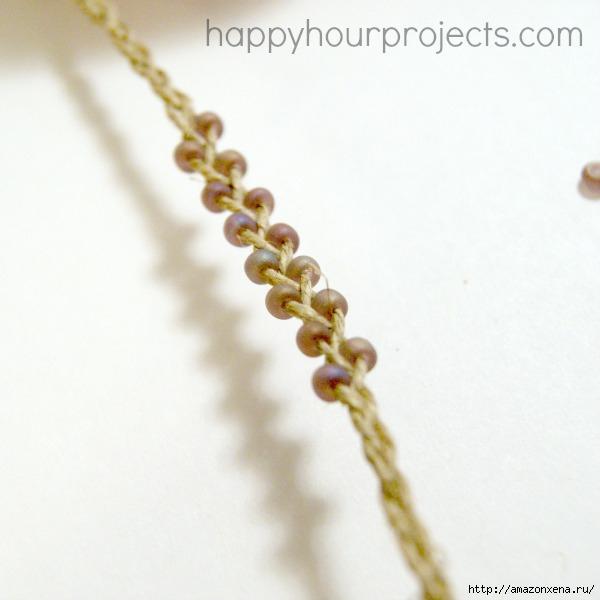 Как своими руками сплести браслет из веревки и бусин (23) (600x600, 115Kb)