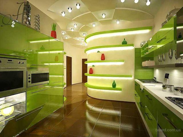 Самые красивые интерьеры кухни фото