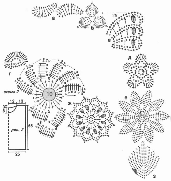 ирландское кружево. салфетка (2) (661x700, 180Kb)